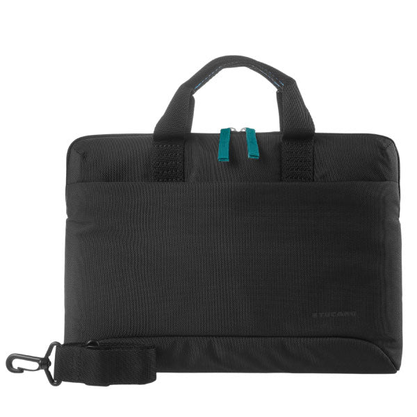 Tucano Milano Italy Smilza super slim bag/sleeve with strap for notebook Black