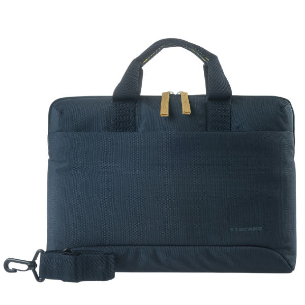 Tucano Milano Italy Smilza super slim bag/sleeve with strap for notebook Blue