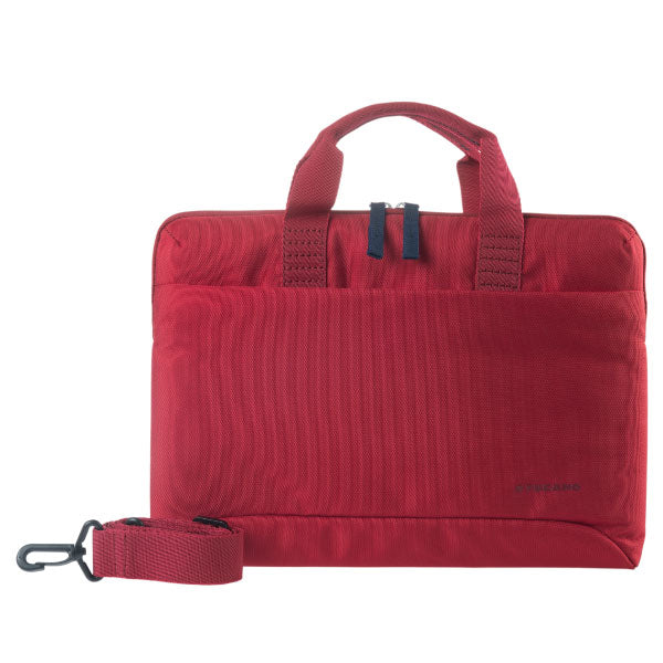 Tucano Milano Italy Smilza super slim bag/sleeve with strap for notebook Red