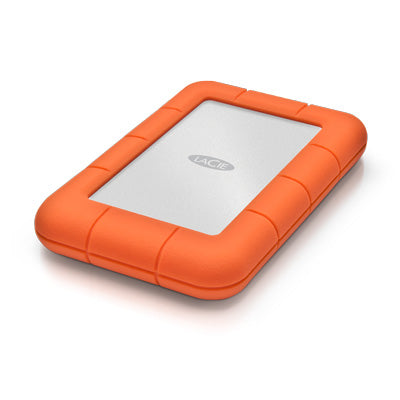 LaCie Rugged Mini USB-C Hard Drive