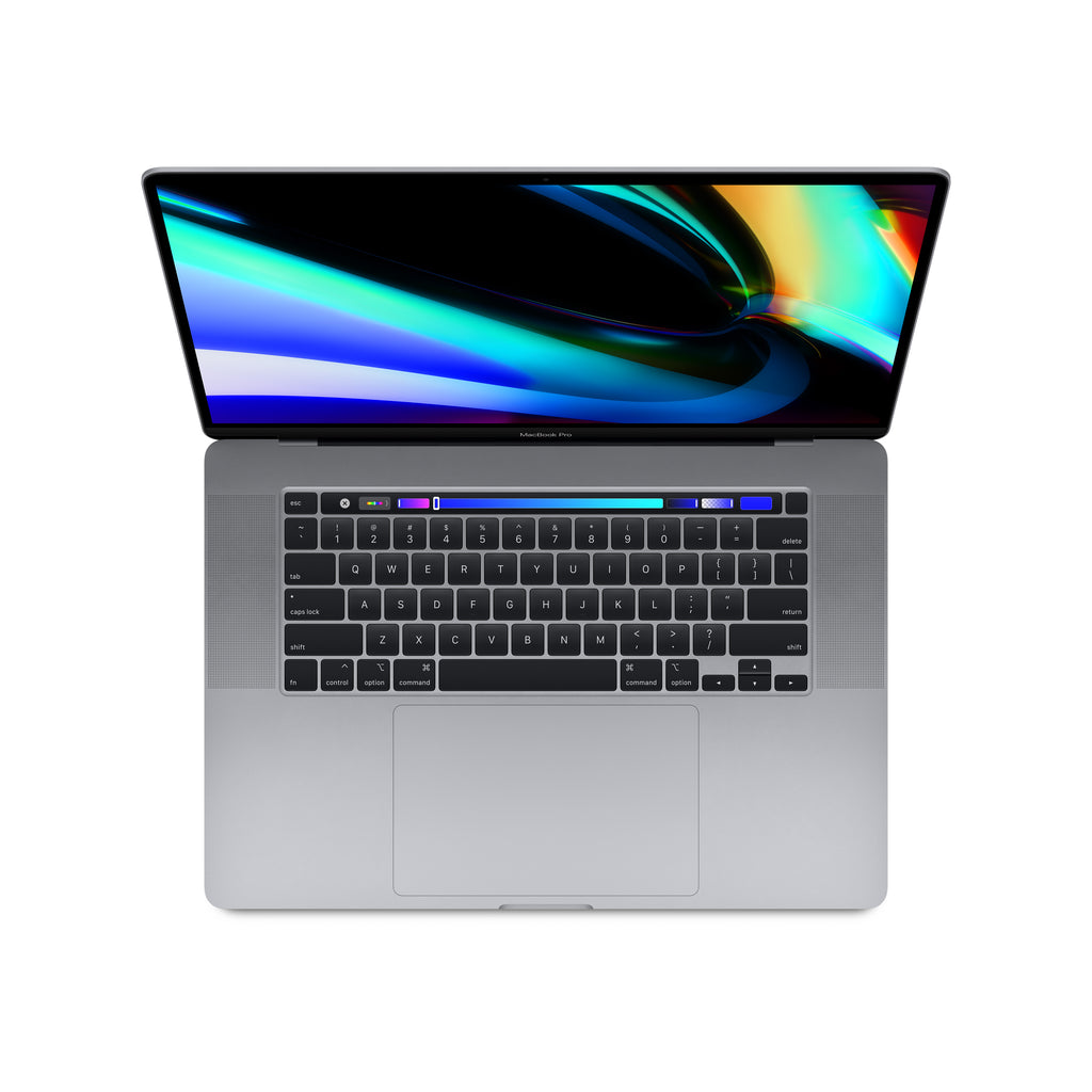 16-inch MacBook Pro with Touch Bar - Space Gray - Top