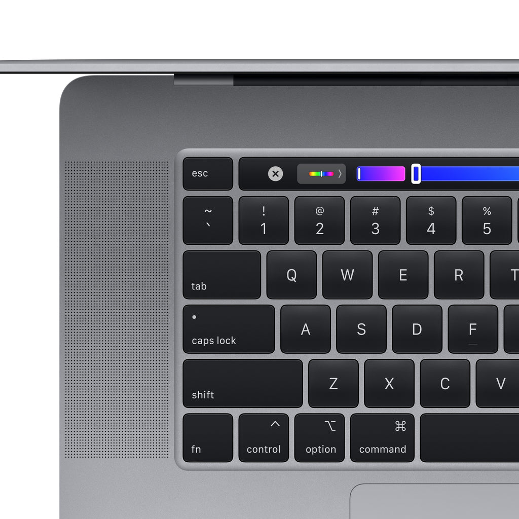 16-inch MacBook Pro with Touch Bar - Space Gray - Top Left