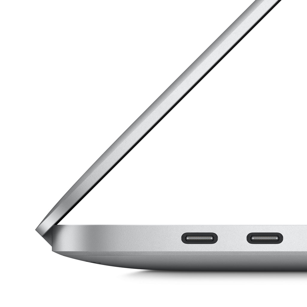 16-inch MacBook Pro with Touch Bar - Silver - Side