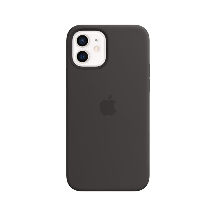 iPhone 12 mini Silicone Case with MagSafe— Black