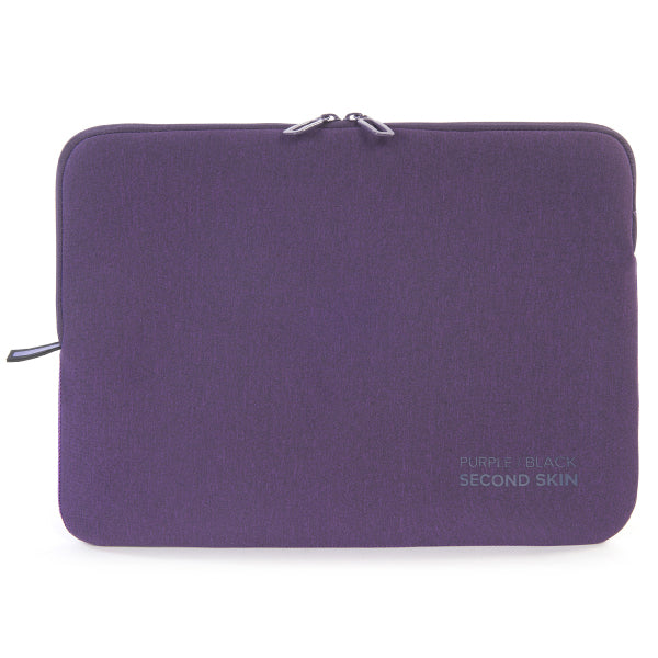 "Tucano Milano Italy Melange Second Skin neoprene sleeve for notebook 13.3"" and 14"" Purple"