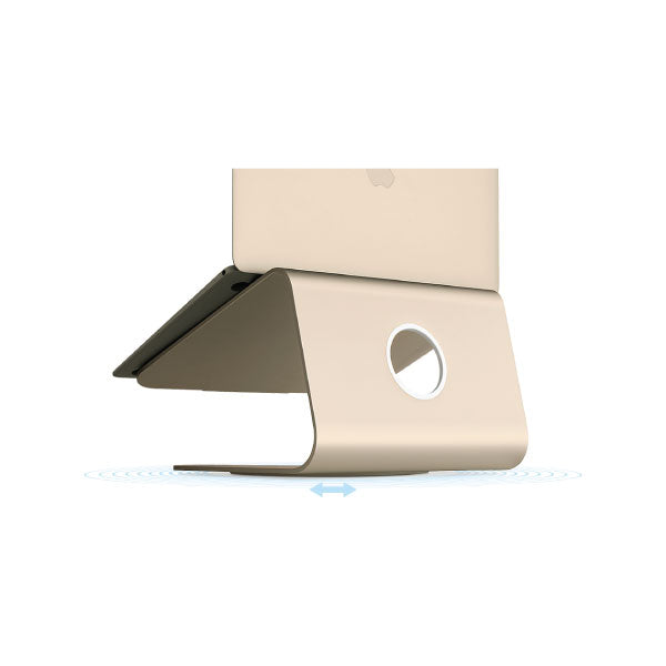 Rain Design mStand 360 for MacBook Gold