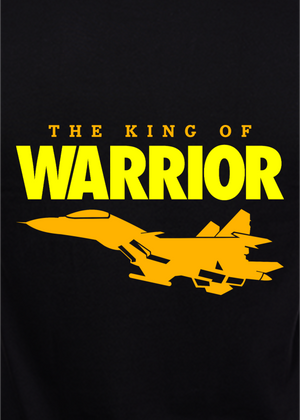 Air-Force-T-Shirt-for-Men-the-king-of-warrior-online-shopping-India graphic