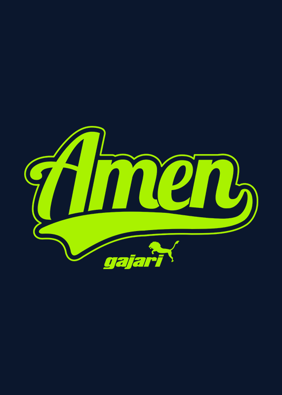 Amen-T-Shirt-for-Men---Gajari---fv