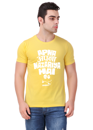 Apna-Apna-Nazariya-Hai-T-Shirt-for-Men-fv-Gajari