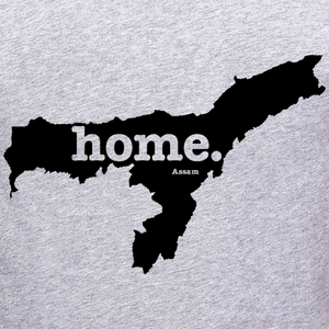 Assam State Map Home T-Shirt Online Shopping India at best price free home delivery no shipping cost at gajari.com the best t-shirt brand gajari graphic design