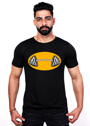 Barbell-weightlifting-t-shirt-for-men-online-shopping-india