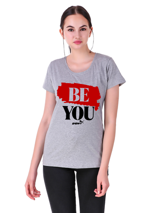 Be-You-Half-Sleeve-T-Shirt-for-Girls---Gajari-fv