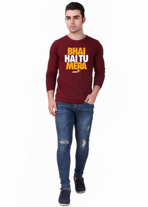 Bhai-Hai-Tu-Mera-Full-Sleeve-T-Shirt-for-Men-ffv-Gajari