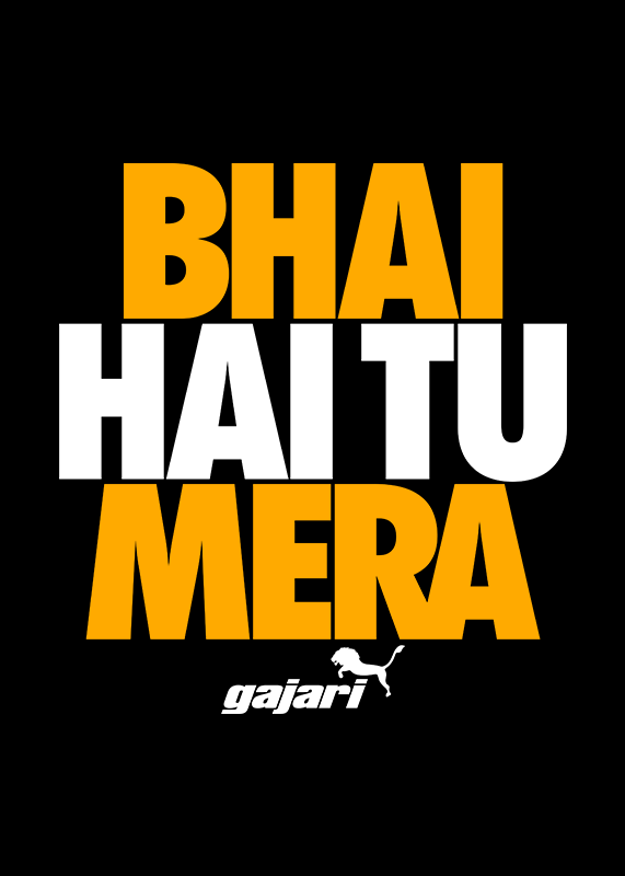 23881aa6c Bhai Hai Tu Mera T-Shirt for Men - Gajari.com