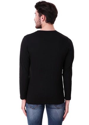 Black-Long-Sleeve-Plain-T-Shirt-for-Men-Online-at-Gajari.com-The-Best-T-Shirt-Brand-bv