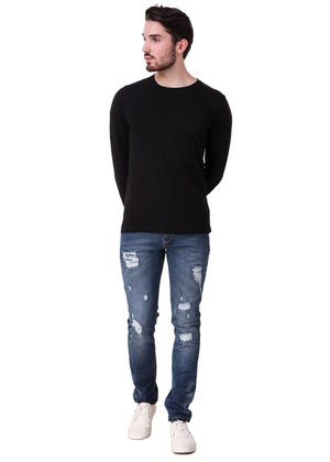Black-Long-Sleeve-Plain-T-Shirt-for-Men-Online-at-Gajari.com-The-Best-T-Shirt-Brand-ffv1