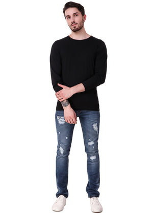Black-Long-Sleeve-Plain-T-Shirt-for-Men-Online-at-Gajari.com-The-Best-T-Shirt-Brand-ffv
