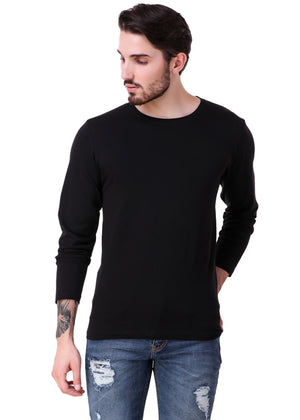 Black-Long-Sleeve-Plain-T-Shirt-for-Men-Online-at-Gajari.com-The-Best-T-Shirt-Brand-fv