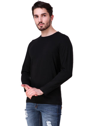 Black-Long-Sleeve-Plain-T-Shirt-for-Men-Online-at-Gajari.com-The-Best-T-Shirt-Brand-lv