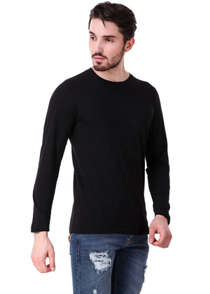 Black-Long-Sleeve-Plain-T-Shirt-for-Men-Online-at-Gajari.com-The-Best-T-Shirt-Brand-rv