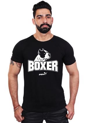 Boxer-Dog-T-Shirt-India-for-Men-Online-at-Gajari