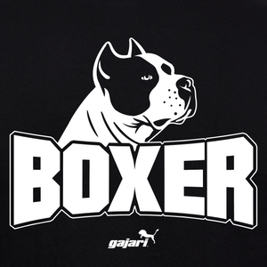 Boxer-Dog-T-Shirt-India-for-Men-Online-at-Gajari graphic