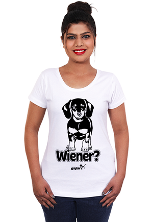Dachshund-Dog-T-Shirts-India-for-Women-Online-at-Gajari-the-best-apparel-brand