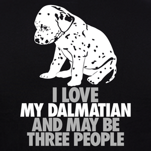 Dalmatian-Dog-T-Shirts-India graphic at gajari