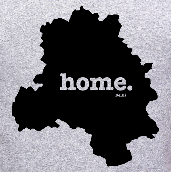Delhi-Home-T-Shirt-for-Women