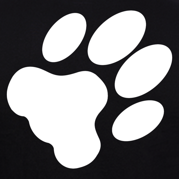 Dog-Paw-T-Shirt-for-Men-online-at-gajari