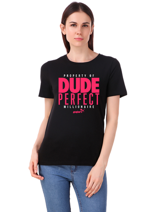 Dude-Perfect-Millionaire-T-Shirt-for-Girls-fv-Gajari