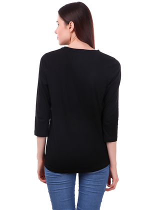 First-Kiss-Long-Sleeve-T-Shirt-for-Women---Gajari---Back