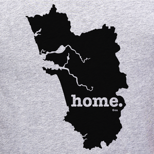 Goa Home Tee Graphic online shopping India at Gajari