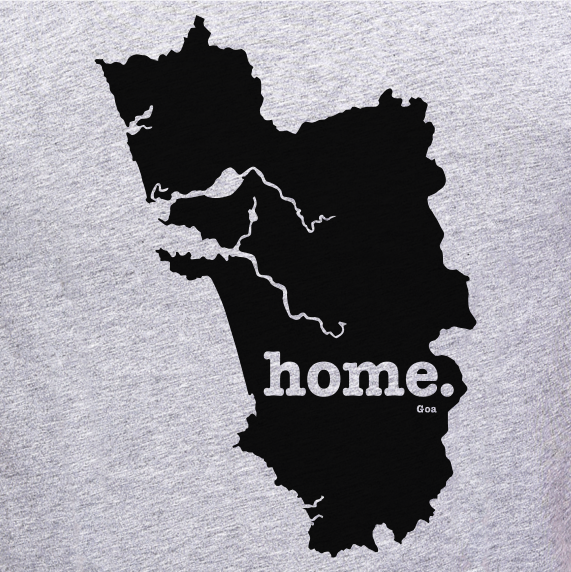 Goa-Home-T-Shirt-online-shopping-India-at-best-price-gajari.com-stylish-fashion-brand