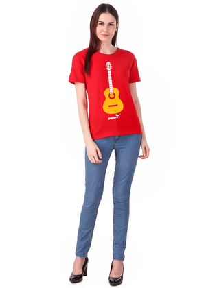 Guitar-T-Shirt-for-Girls---Gajari-ffvv