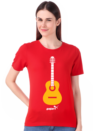 Guitar-T-Shirt-for-Girls---Gajari-fv