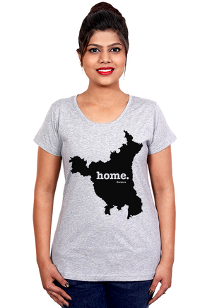 Haryana-Home-T-Shirt-for-Women-Online-India-at-Gajari
