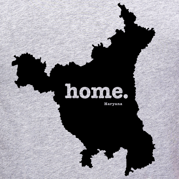 Haryana-home-t-shirt-for-men-online-shopping-india-at-gajari.com-the-best-apparel-brand