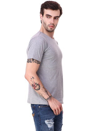Heather-Grey-Short-Sleeve-Plain-T-Shirt-for-Men-Online-at-Gajari.com-The-Best-T-Shirt-Brand-rv