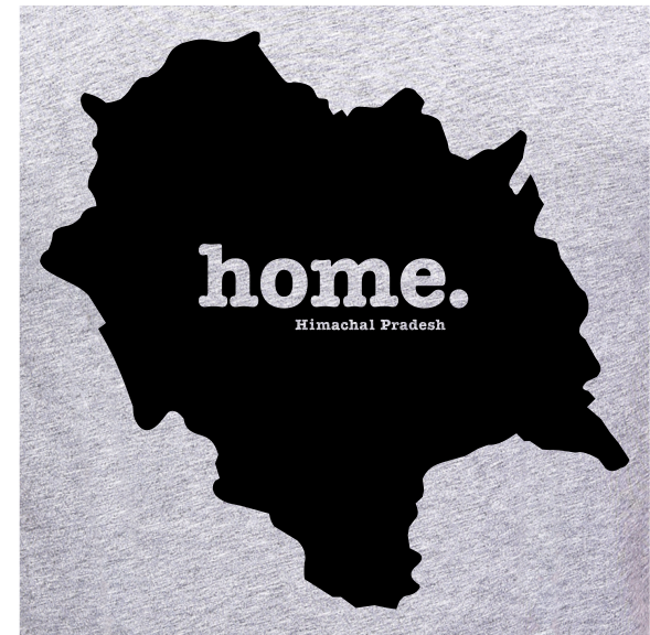 Himachal-Pradesh-Home-t-shirt-online-India-at-gajari