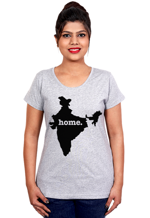 India Home T-Shirt for Women Online India at Gajari