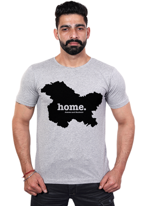Jammu-and-Kashmir-state-map-home-t-shirt-for-men-online-shopping-India-at-Gajari-the-best-Apparel-brand-printed-tee
