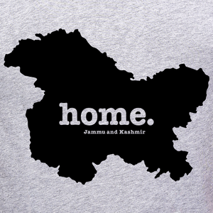 Jammu-and-Kashmir-state-map-home-t-shirt-for-men-online-shopping-India-at-Gajari-the-best-Apparel-brand-printed-tee graphic