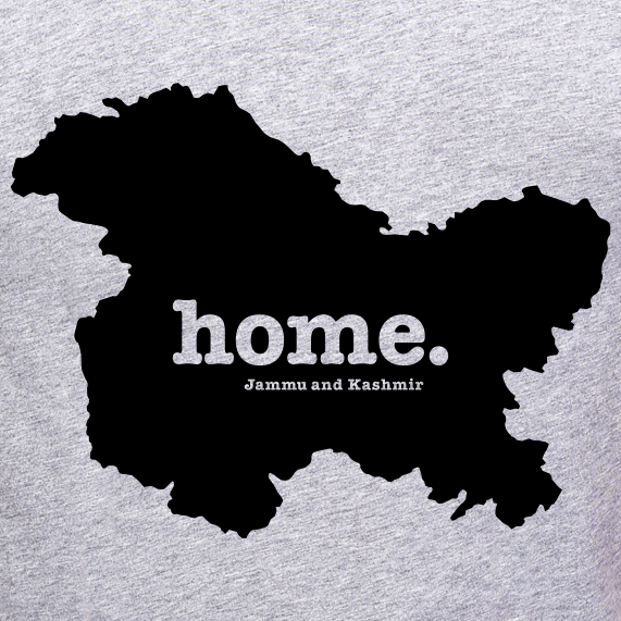 Jammu-Kashmir-Home-t-Shirt-online-India-at-Gajari