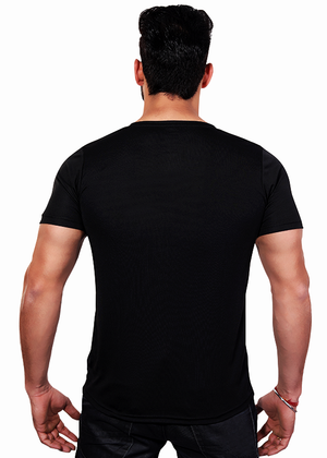 Yadav T-Shirt for Men Back Gajari