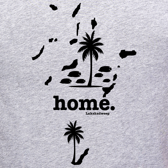 Lakshadweep-Home-T-Shirt-for-Women-online-india-at-gajari