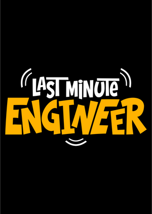 Last Minute Engineer T-Shirt for Men Graphic - Gajari