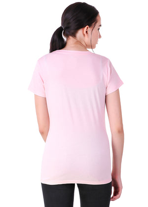 Light-Pink-Short-Sleeve-Plain-T-Shirt-for-Women-Online-at-Gajari.com-The-Best-T-Shirt-Brand-bv