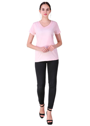 Light-Pink-Short-Sleeve-Plain-T-Shirt-for-Women-Online-at-Gajari.com-The-Best-T-Shirt-Brand-ffv