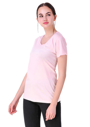 Light-Pink-Short-Sleeve-Plain-T-Shirt-for-Women-Online-at-Gajari.com-The-Best-T-Shirt-Brand-lv